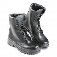 """Зимние ботинки с высоким берцем """"Силовик"""" (искусственный мех)"""